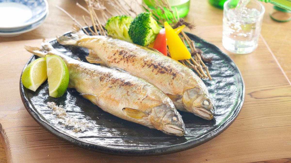 鹽烤香魚-料理-main