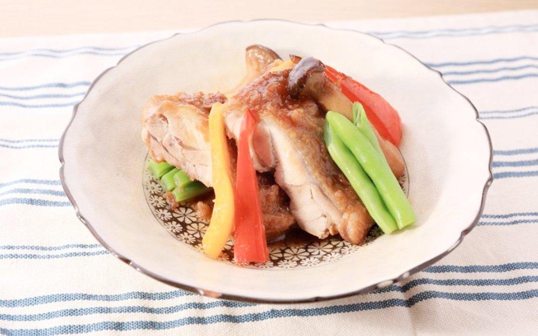 日式醬燒雞腿