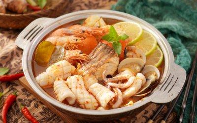 鍋底系列 泰式海鮮鍋