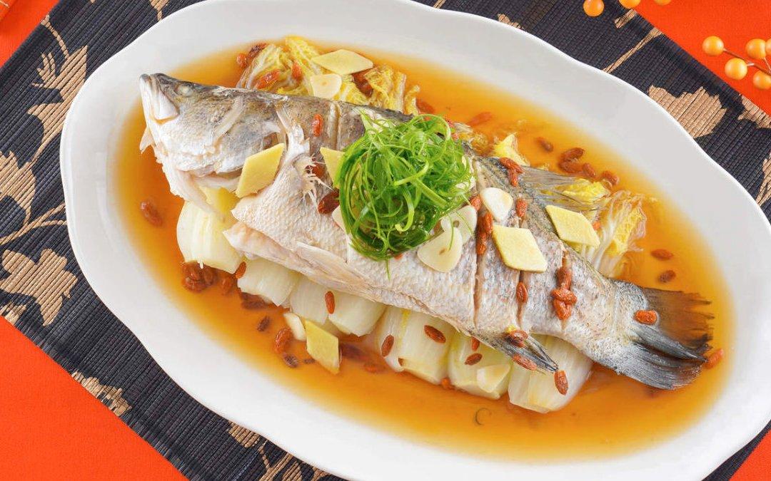 金目鱸魚料理 如意鱸魚蒸