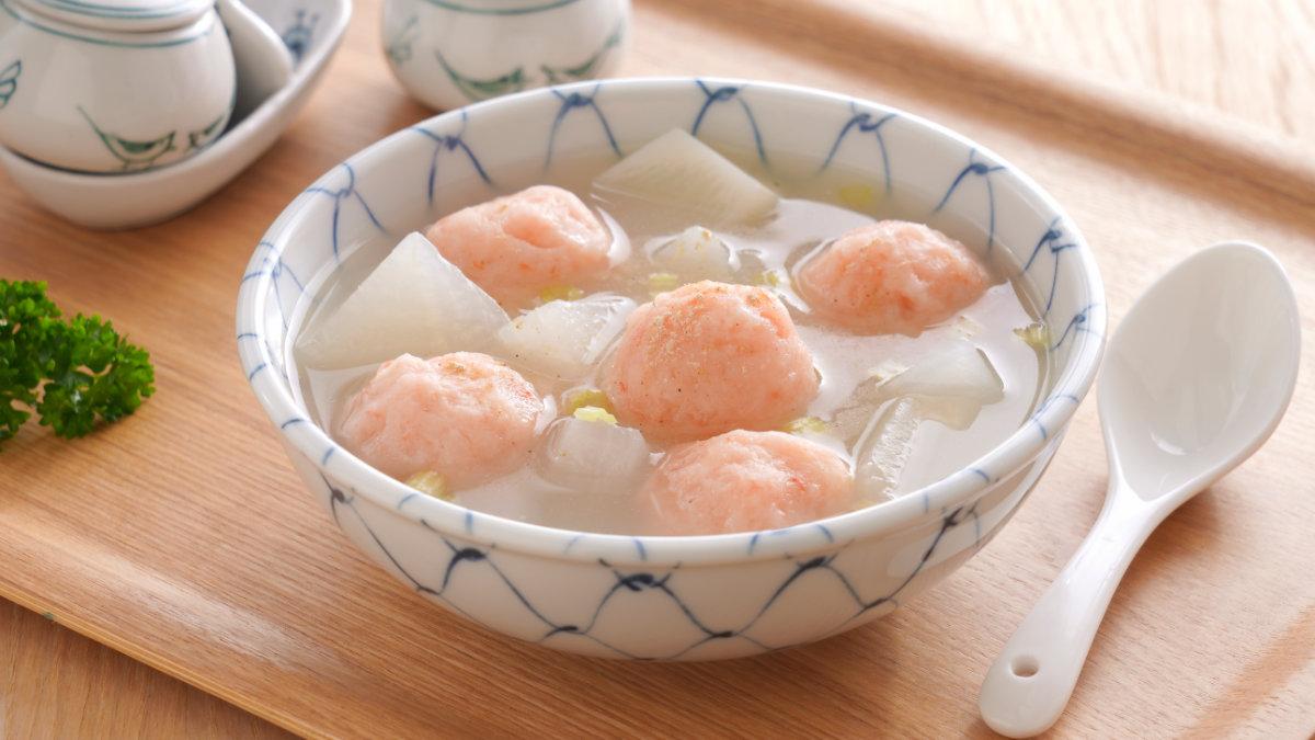 安永嚴選-蝦仁丸蘿蔔湯