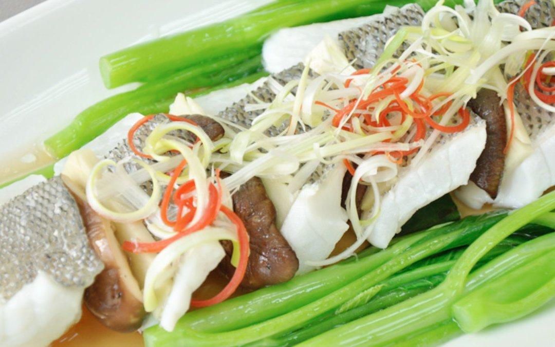 鱸魚料理 清蒸鱸魚排