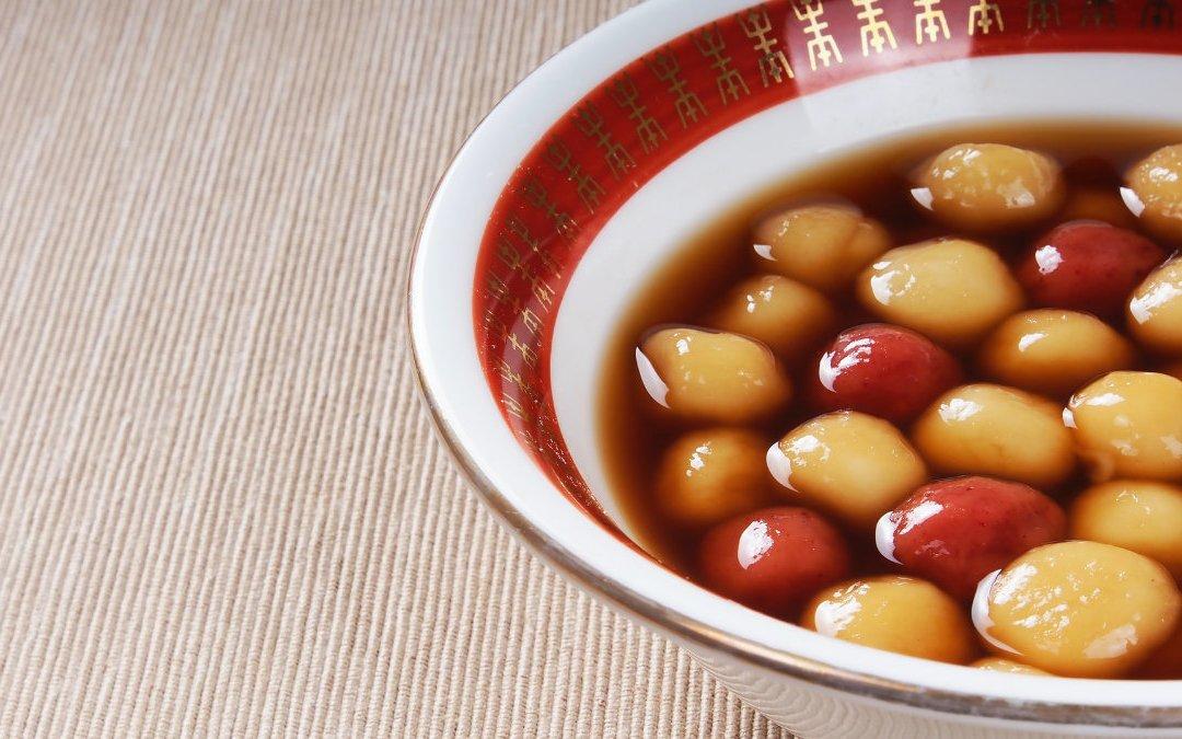 冬至吃湯圓10小2大為宜 前後餐米飯減量