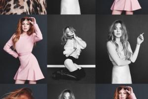Lindsay Lohan X Alex Sainsbury