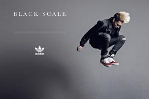 Ilusat lookbooki videokunsti Black Scale x adidas