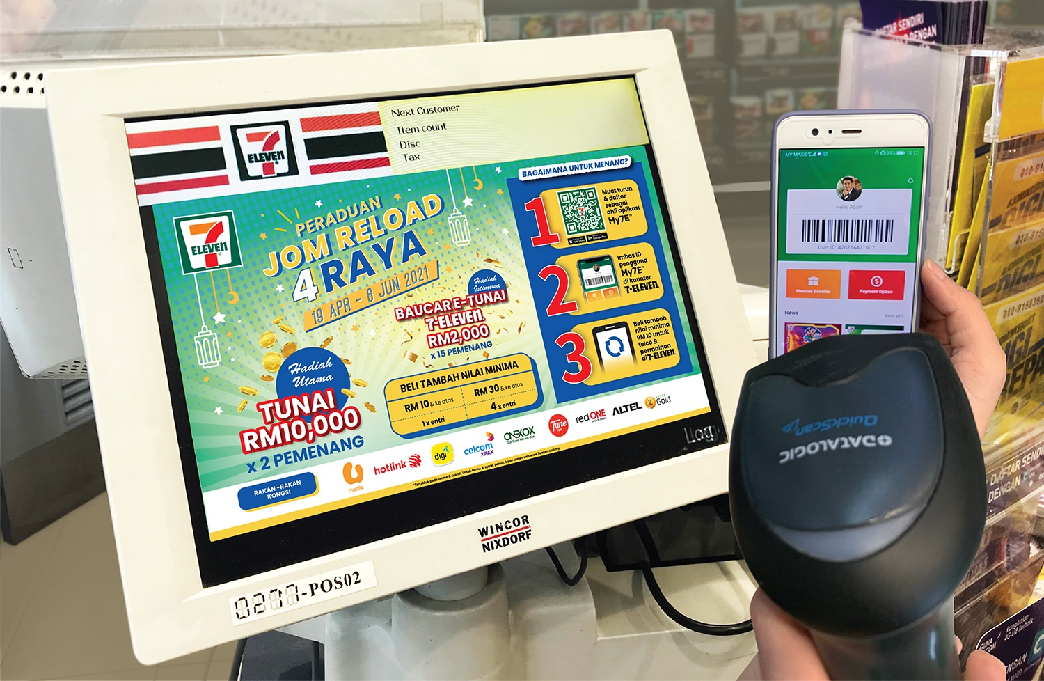 Jom Reload 4 Raya at 7-Eleven With RM50,000 in Prizes Up For Grabs - Life is Ohsem
