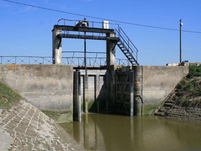 Porte à la mer - Marais poitevin