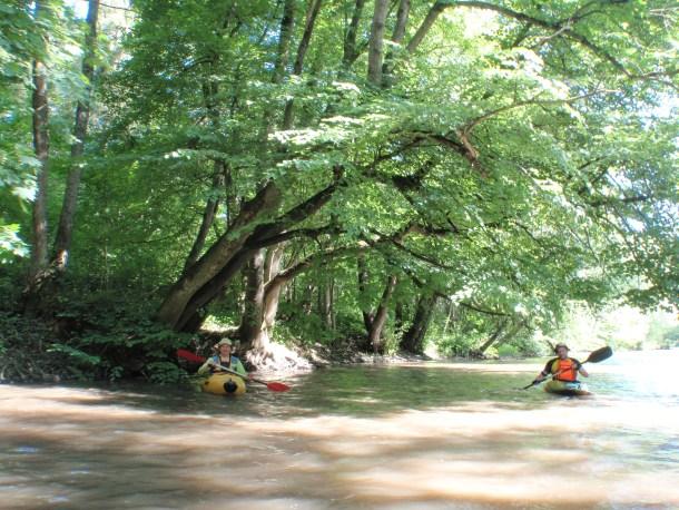 ріка Стрипа - чудовий полігон для початкового каякінгу