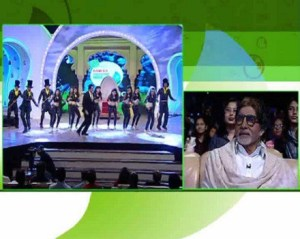 Govinda performing at NDTV CLeanathon