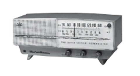 Korea's first radio by Goldstar