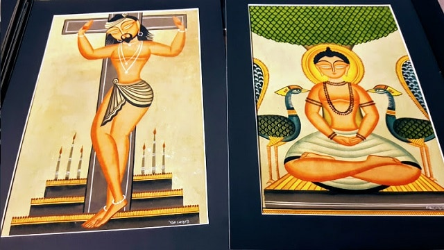 Kalighat paintings - secular themes