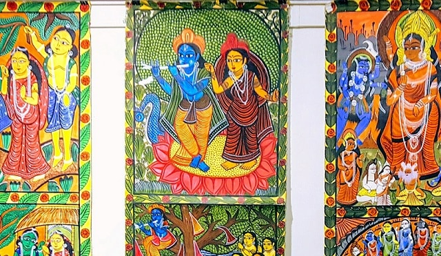 Folk art of Bengal and Kalighat paintings