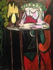Reading at a table - Pablo Picasso @ Metropolitan Museum of Art