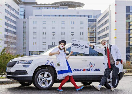 SKODA AUTO podporuje organizaci Zdravotni klaun e1610034475717