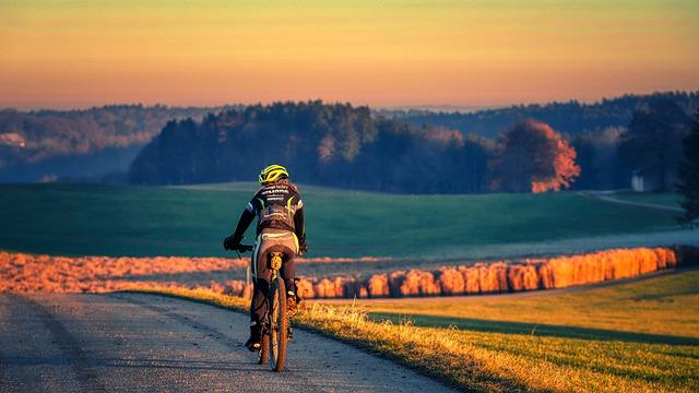 cyklistika ilustracni foto