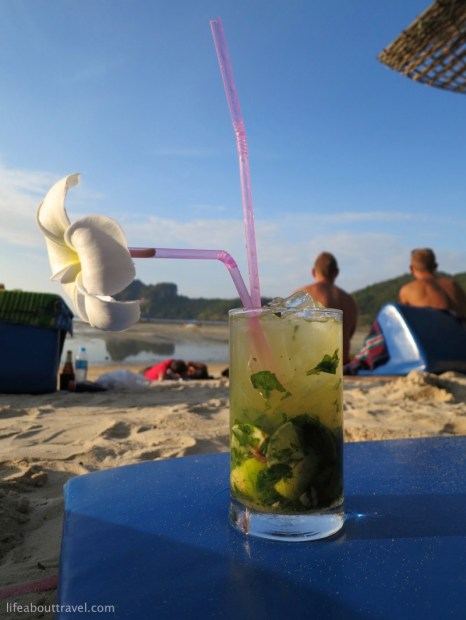 My favourite - Mojito by the beach