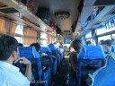 The interior of VIP Bus