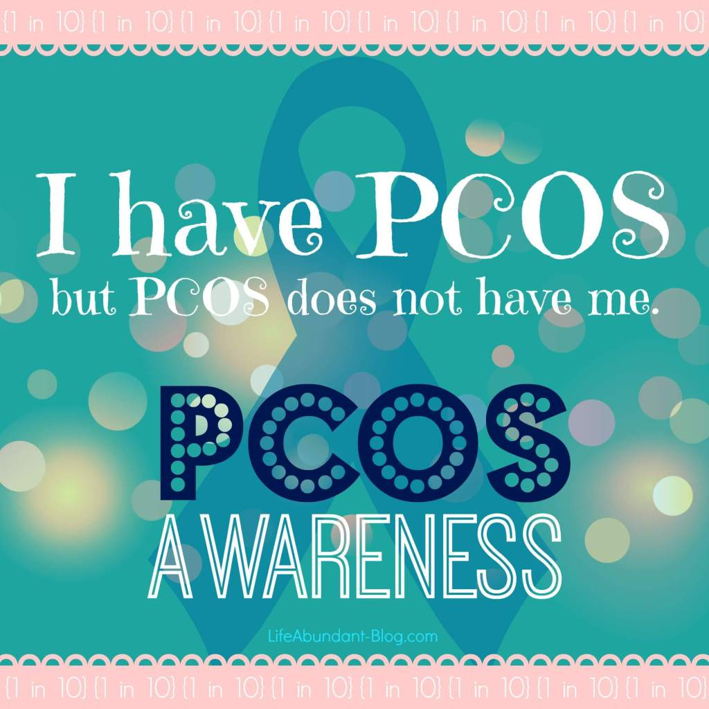 But PCOS Does Not Have Me