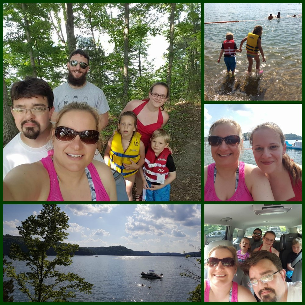 Dale Hollow Lake collage