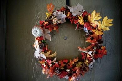 Pumpkin Path Wreath