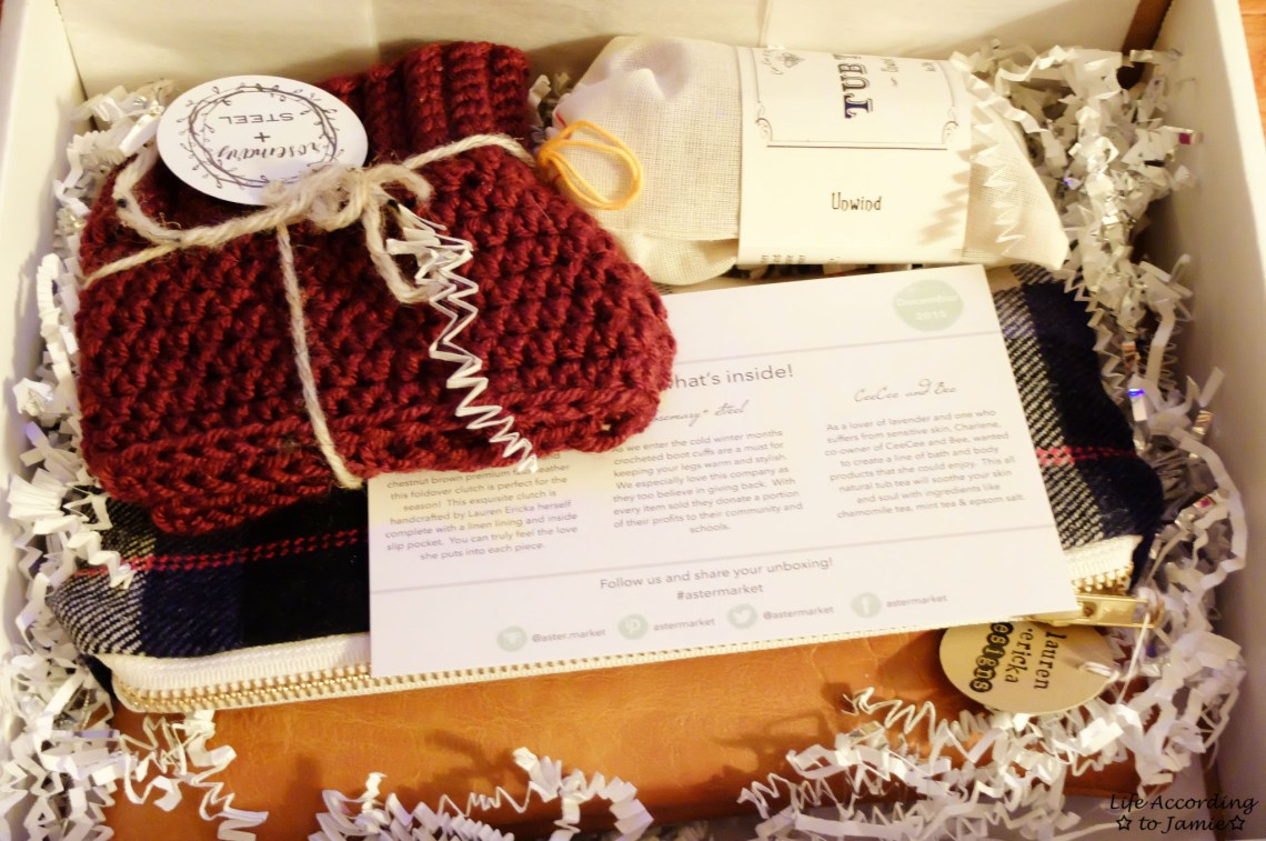Aster Market December Box