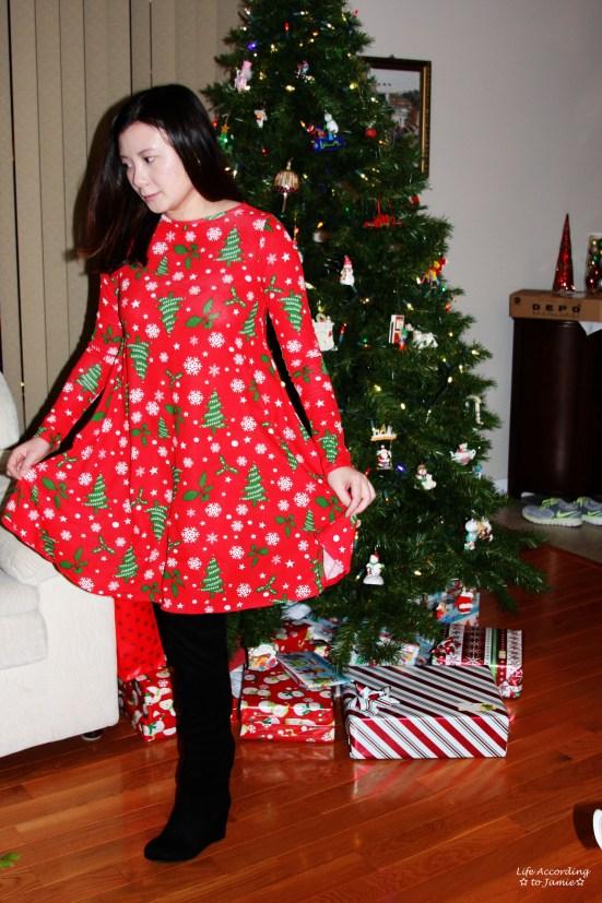 Christmas Swing Dress 3