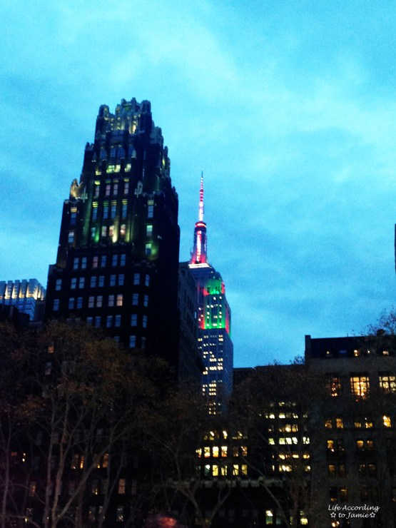 Empire State Building - Christmas Lights