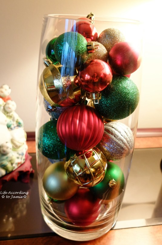 Ornaments in Vase 3