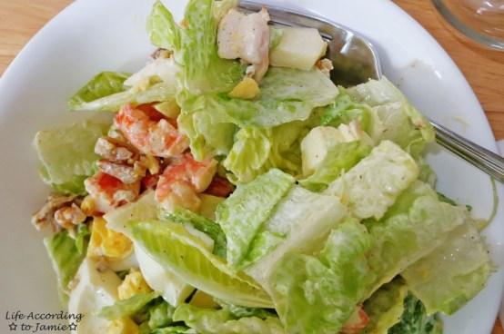 Pan-Fried Shrimp Salad 3