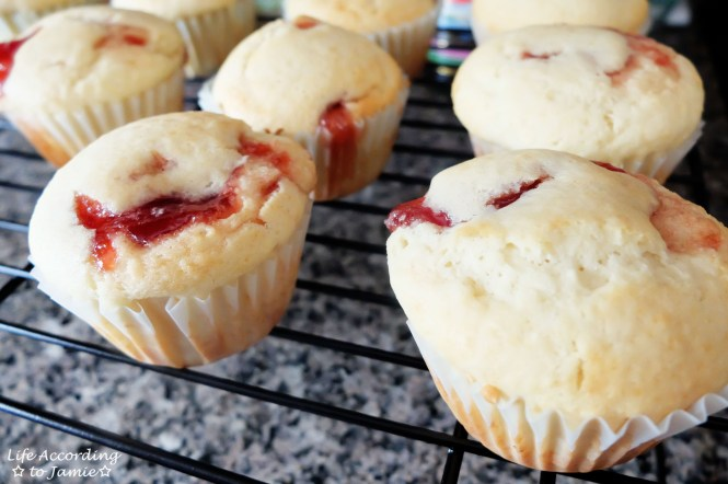 Jam Filled Muffins 4