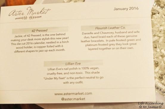 January 2016 Aster Market 2