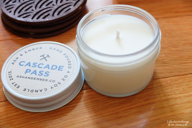 Ash & Ember Soy Candle 1