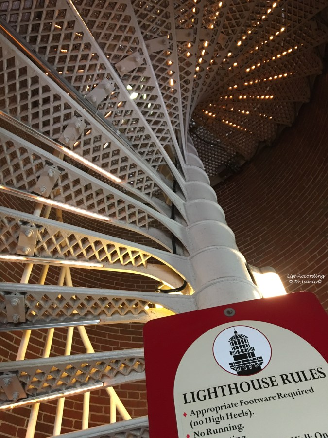 Cape May Lighthouse - Stairs