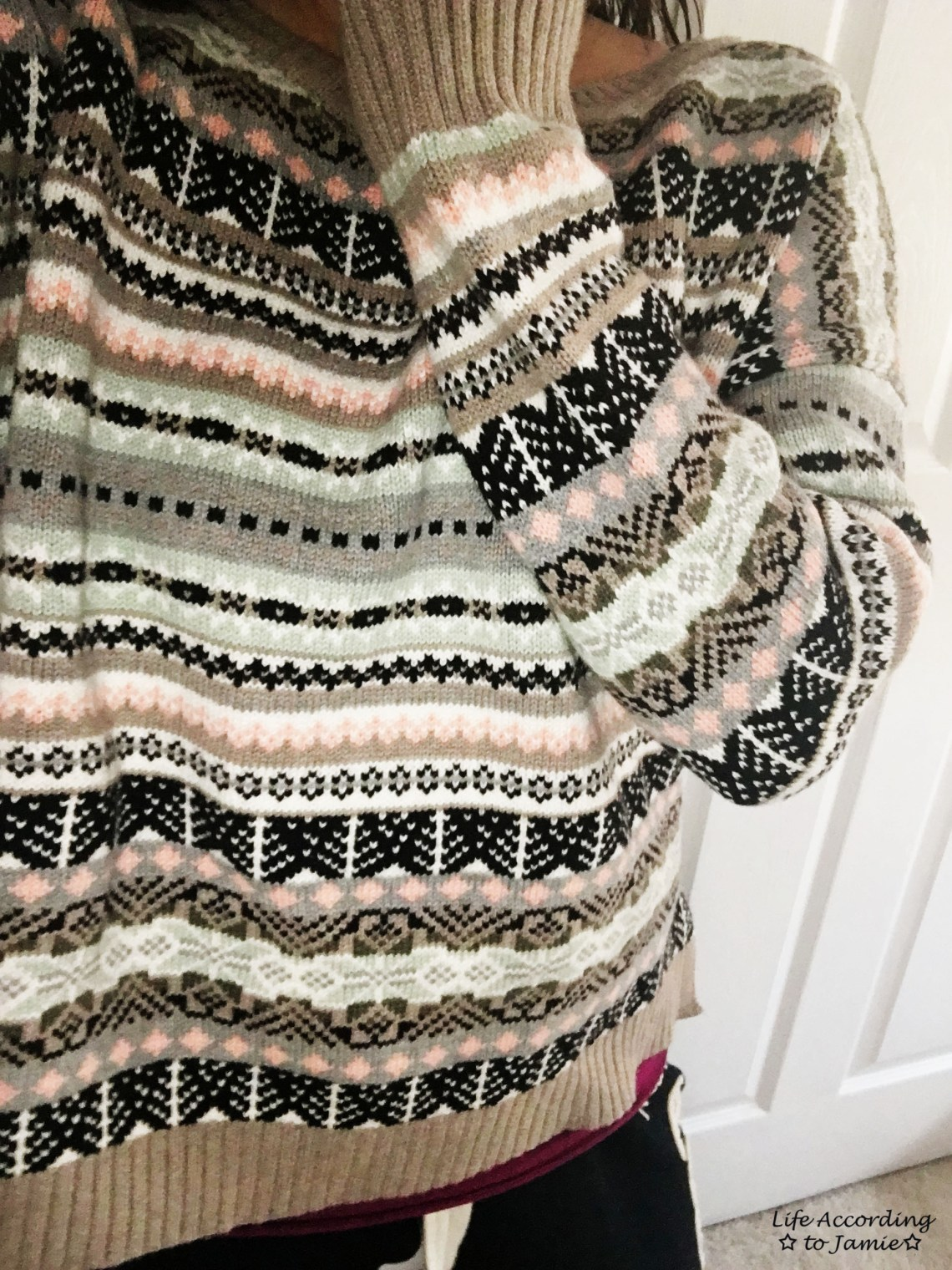 Victoria's Secret Fair Isle Sweater