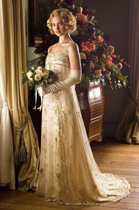 downton abbey - rose wedding