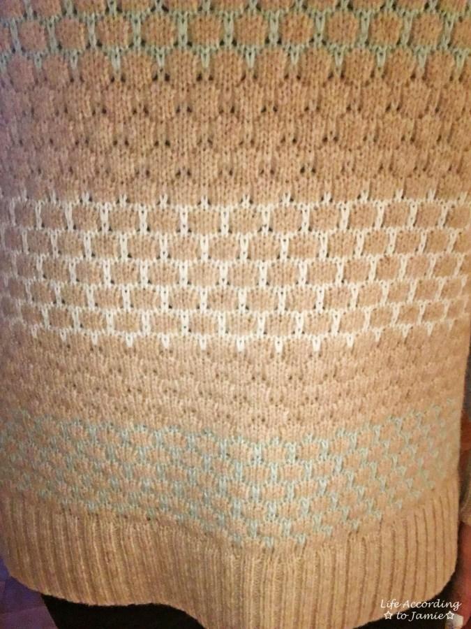 Honeycomb Sweater 3
