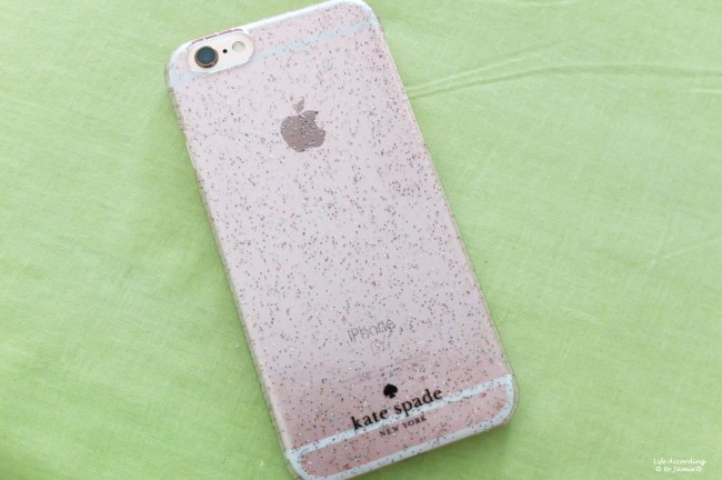 Kate Spade Glitter iPhone Case