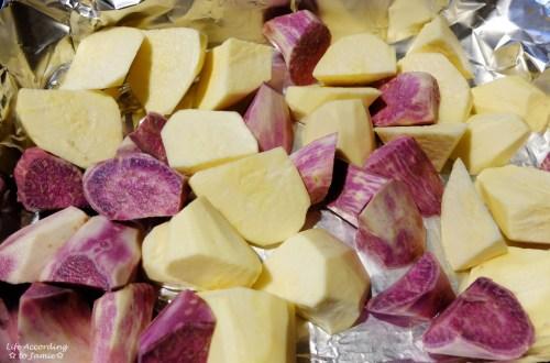 Japanese & Hawaiian Sweet Potatoes