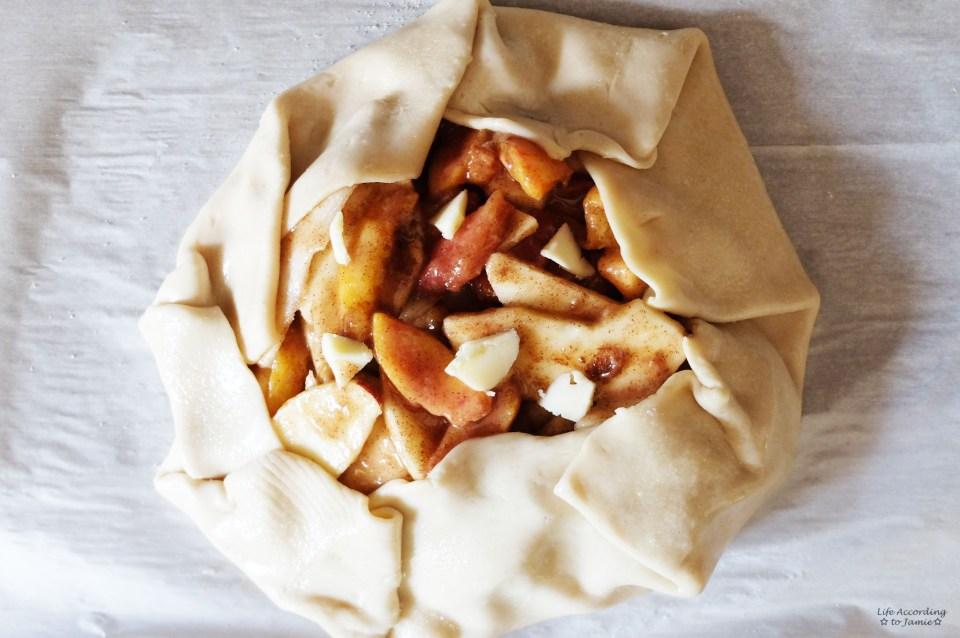 Apple & Peach Crostata 2