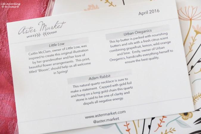 Aster Market April 2016 3