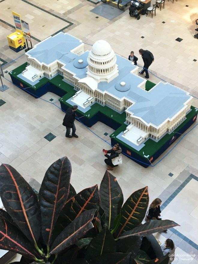 Lego Americana Roadshow - Capitol Building aerial
