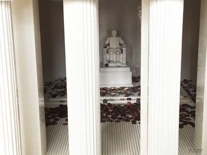 Lego Americana Roadshow - Lincoln Memorial 1
