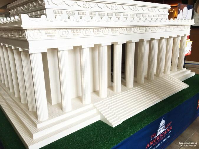 Lego Americana Roadshow - Lincoln Memorial