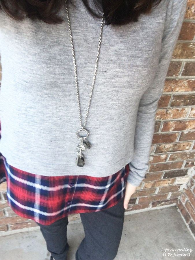 Plaid Layered Top 2