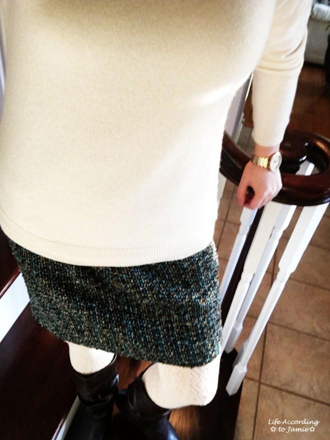 Tweed Skirt 2