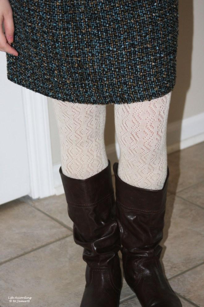 Tweed Skirt 3