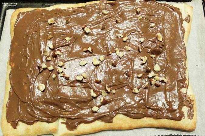 Nutella Dessert Pizza 1