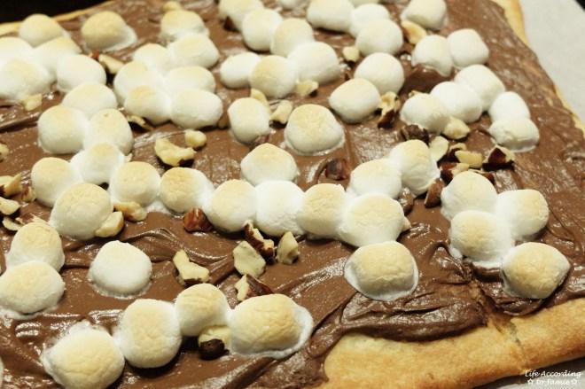 Nutella Dessert Pizza 5
