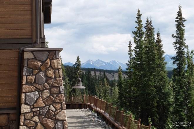 Denali Princess Lodge - Mountain view
