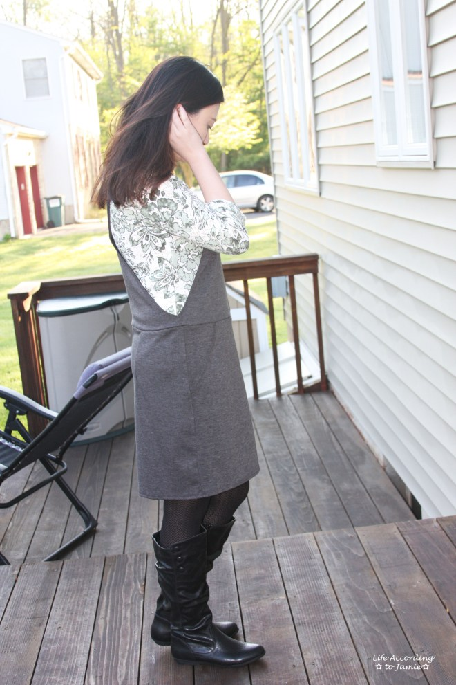 Grey Pinafore 2
